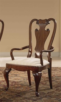 American Drew Cherry Grove Classic Antique Splat Back Arm Chair (Sold in 2)