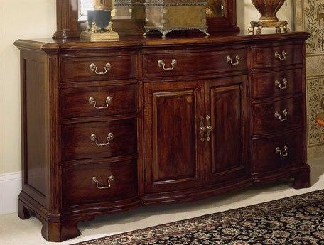 American Drew Cherry Grove Classic Antique Door Triple Dresser