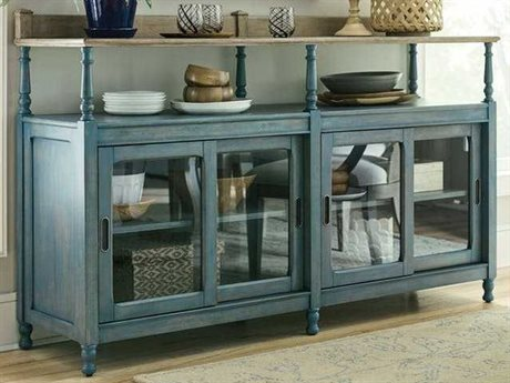 American Drew Litchfield Driftwood / Blue Denim Buffet AD750858B