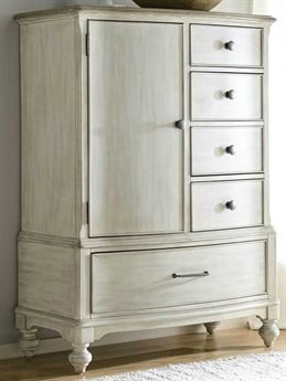 American Drew Litchfield Driftwood / Sun Washed 5 Drawers Chest of