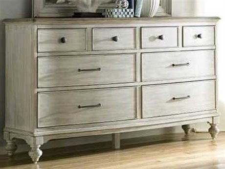American Drew Litchfield Driftwood / Sun Washed 8 Drawers and up Double Dresser