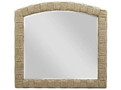 American Drew Litchfield Tinted Natural Dresser Mirror