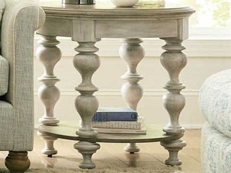 American Drew Litchfield 27'' Wide Round End Table AD750914