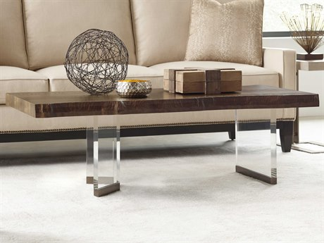 American Drew Modern Organics 53'' x 26.75'' Rectangular Brevard Live Edge Cocktail Table AD600912