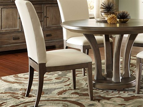 American Drew Park Studio Weathered Taupe with Gray Wash Dining Side Chair (Sold in 2) AD488622