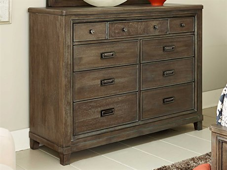American Drew Park Studio Weathered Taupe with Gray Wash Dresser AD488131