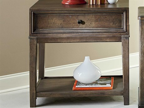 American Drew Park Studio Weathered Taupe with Gray Wash 30''L x 19''W Rectangular Nightstand AD488421