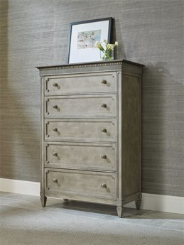 American Drew Savona Stephan Maple and Elm Five-Drawer Chest
