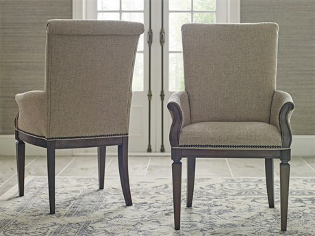 American Drew Savona Camille Upholstered Dining Arm Chair (Sold in 2)