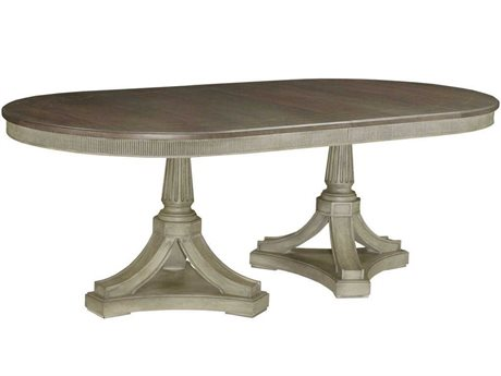American Drew Savona 84'' Wide Oval Dining Table AD654744B44