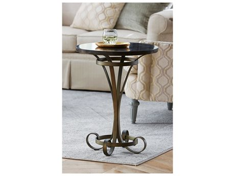 American Drew Savona Louise 20'' Round Lamp Pedestal Table AD654918