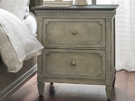 American Drew Savona Ax Two Drawer 28'' x 18'' Nightstand AD654420