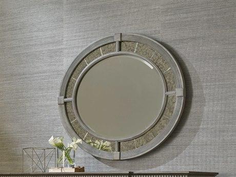 American Drew Savona Rococo 39'' x 45'' Oval Wall Mirror