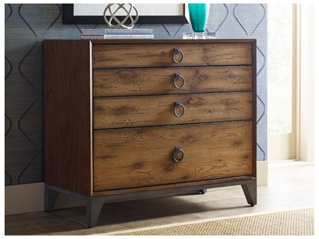 American Drew Modern Synergy Lumber Four-Drawer Bunching Drawer Chest AD700221