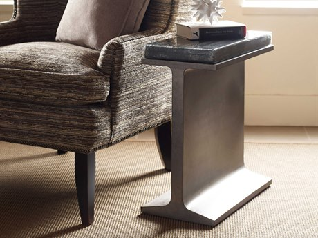 American Drew Modern Synergy Beam 11'' x 21'' Rectangular Chairside Table