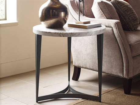 American Drew Modern Synergy Delphi 26'' Round Lamp End Table AD700918