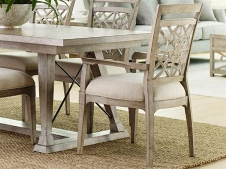 American Drew Vista Oyster Arm Dining Chair (Sold in 2)