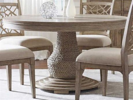 American Drew Vista Oyster 54'' Wide Round Dining Table