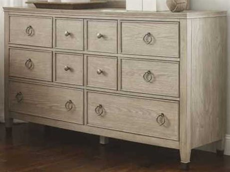 American Drew Vista Oyster 8 Drawers and up Double Dresser AD803130