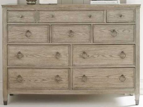 American Drew Vista Oyster 8 Drawers and up Double Dresser AD803131