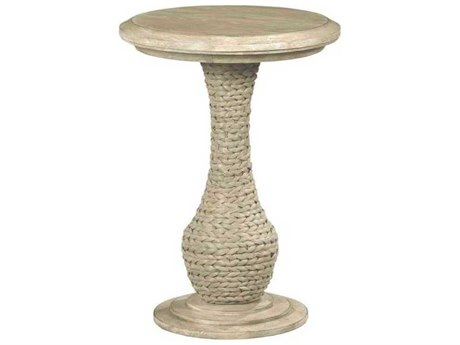 American Drew Vista Oyster 18'' Wide Round Pedestal Table AD803920