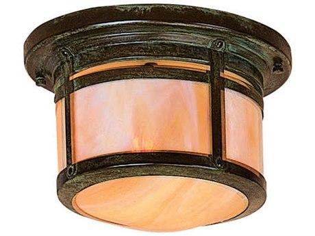 Arroyo Craftsman Berkeley 1-light Glass Outdoor Ceiling Light