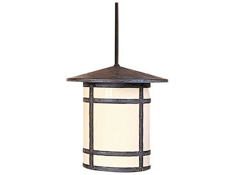 Arroyo Craftsman Berkeley 1-light Glass Outdoor Hanging Light