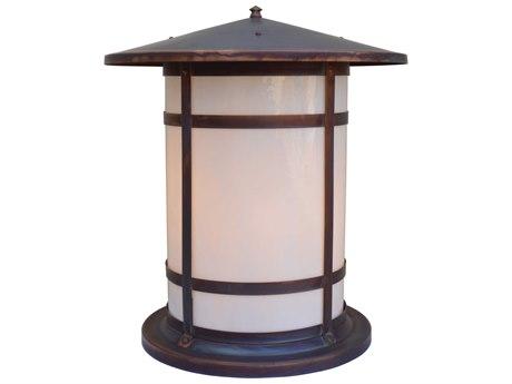 Arroyo Craftsman Berkeley 1-light Glass Outdoor Column Mount