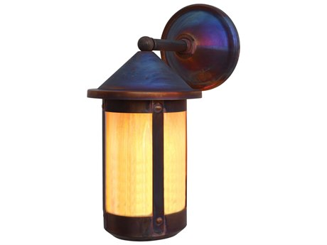 Arroyo Craftsman Berkeley 1-light Glass Outdoor Wall Light