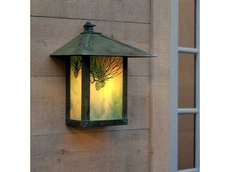 Arroyo Craftsman Evergreen Outdoor Wall Sconce AYEW12