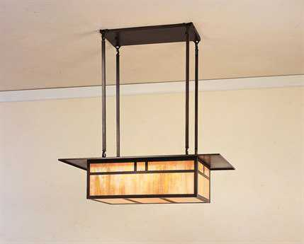 Arroyo Craftsman Huntington Four-Light Island Light AYHCM27
