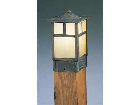 Arroyo Craftsman Mission Square Outdoor Post Mount Light