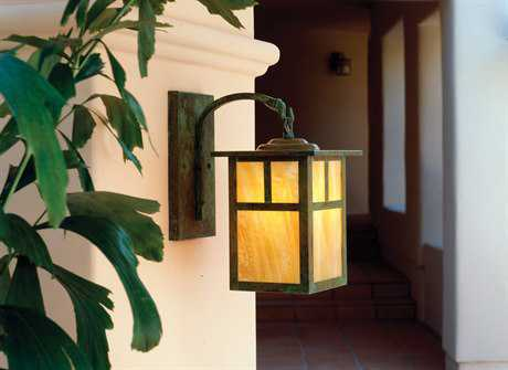 Arroyo Craftsman Mission Outdoor Wall Sconce AYMB6