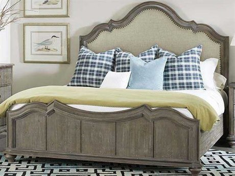 A.R.T Furniture Allie Remnant Queen Size Panel Bed AT4041452639