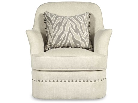 A.R.T. Furniture Amanda Ivory Cotswold Swivel Accent Chair AT2045165008AA