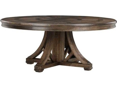 A.R.T. Furniture American Chapter Makers 60'' Wide Round Dining Table AT2472242912