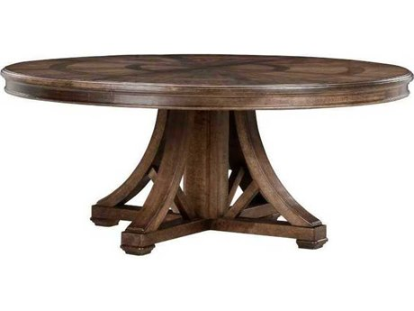 A.R.T. Furniture American Chapter Makers 72'' Wide Round Dining Table AT2472252912
