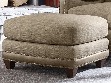 A.R.T. Furniture American Chapter Upholstered Makers Sage Ottoman