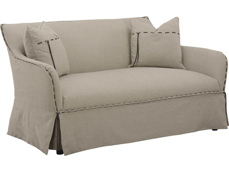 A.R.T. Furniture American Chapter Upholstered Clear Natural Flax Loveseat Sofa