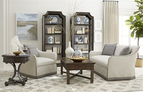 A.R.T. Furniture American Chapter Upholstered Sofa Set