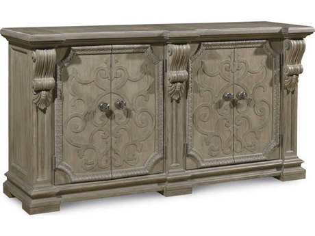 A.R.T. Furniture Arch Salvage Wren Parch 76''L x 21''W Rectangular Buffet AT2332512802