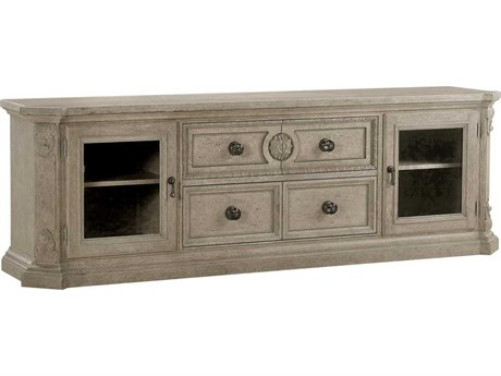 A.R.T Furniture Arch Salvage Parch 87''L x 20''W Rectangular Townley Entertainment Console AT2334242802