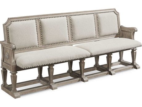 A.R.T. Furniture Arch Salvage Becket Parch Dining Arm Bench