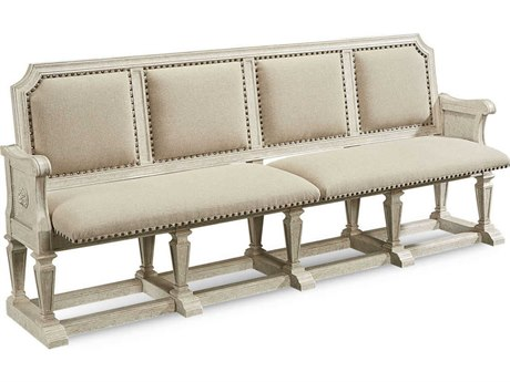 A.R.T. Furniture Arch Salvage Becket Cirrus Dining Arm Bench