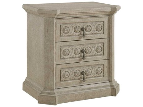 A.R.T Furniture Arch Salvage Parch 30''W x 20''D Rectangular Gabriel Nightstand AT2331432802