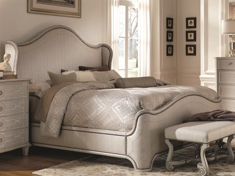 A.R.T. Furniture Chateaux Grey Eastern King Size Shelter Bed AT2131562023