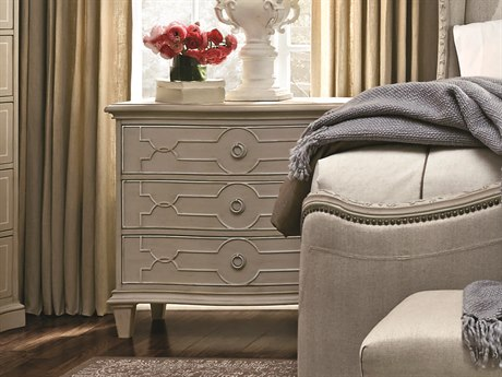 A.R.T. Furniture Chateaux Grey 36.5''W x 19''D Rectangular Nightstand AT2131422023BS