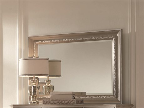 A.R.T. Furniture Chateaux Grey 50''W x 40''H Rectangular Wall Mirror AT2131202023