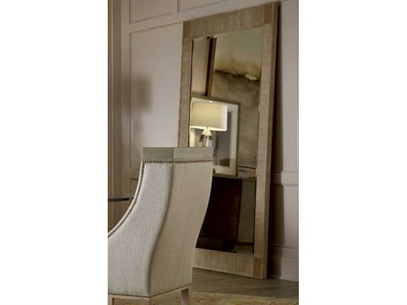 A.R.T. Furniture Cityscapes Hudson Gray Stone 47''W x 89''H Rectangular Floor Mirror