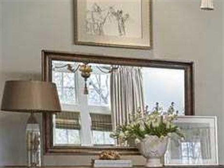 A.R.T. Furniture Continental Weathered Nutmeg 50''W x 34.5''H Rectangular Landscape Mirror